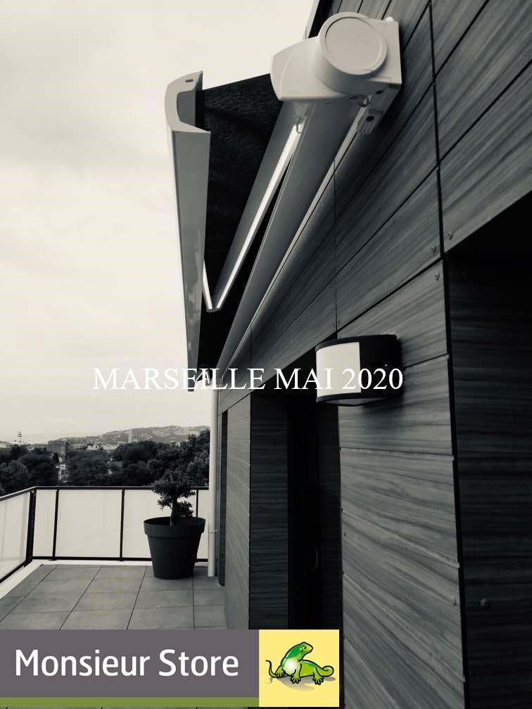 STORE COFFRE SUR MESURE MARSEILLE 13008 monsieur store marseille